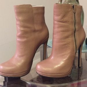 Also Camel booties